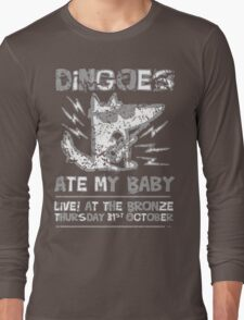 Dingoes Ate My Baby | Buffy The Vampire Slayer Band T-shirt [Distressed] Long Sleeve T-Shirt