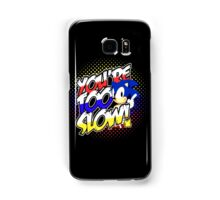 Sonic - Tee (different design on graphic tee) Samsung Galaxy Case/Skin
