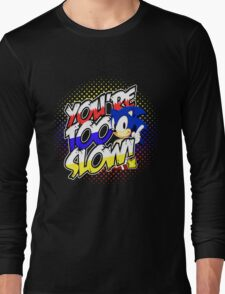 Sonic - Tee (different design on graphic tee) Long Sleeve T-Shirt