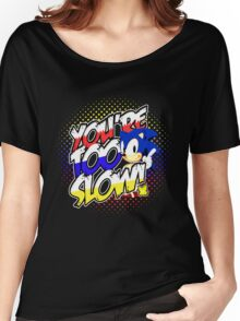 Sonic - Tee (different design on graphic tee) Women's Relaxed Fit T-Shirt