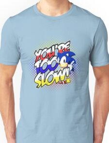 Sonic - Tee (different design on graphic tee) Unisex T-Shirt