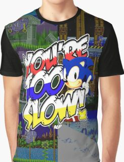 Sonic - Tee (different design on graphic tee) Graphic T-Shirt