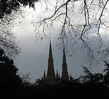 Cathedral Silhouette! by Kymbo