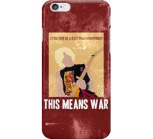 This Means War iPhone Case/Skin
