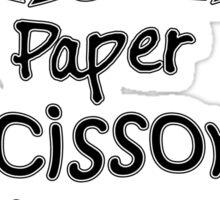 TBBT - Rock Paper Scissors Lizard Spock Sticker