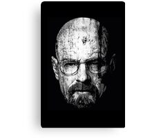Walter Poster Design Canvas Print
