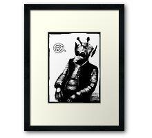 Greedo: Han Shot First Framed Print