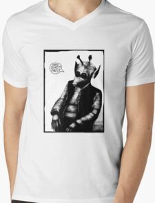 Greedo: Han Shot First Mens V-Neck T-Shirt