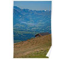 Niederhorn, Swiss Alps Poster