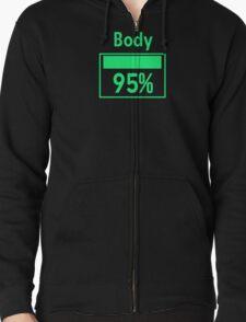 95% V.A.T.S Zipped Hoodie