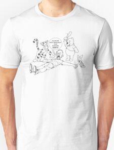 The Wicker Man - Nicolas Cage Winnie The Pooh T-Shirt