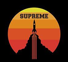 Supreme Rocket by Zack Kalimero