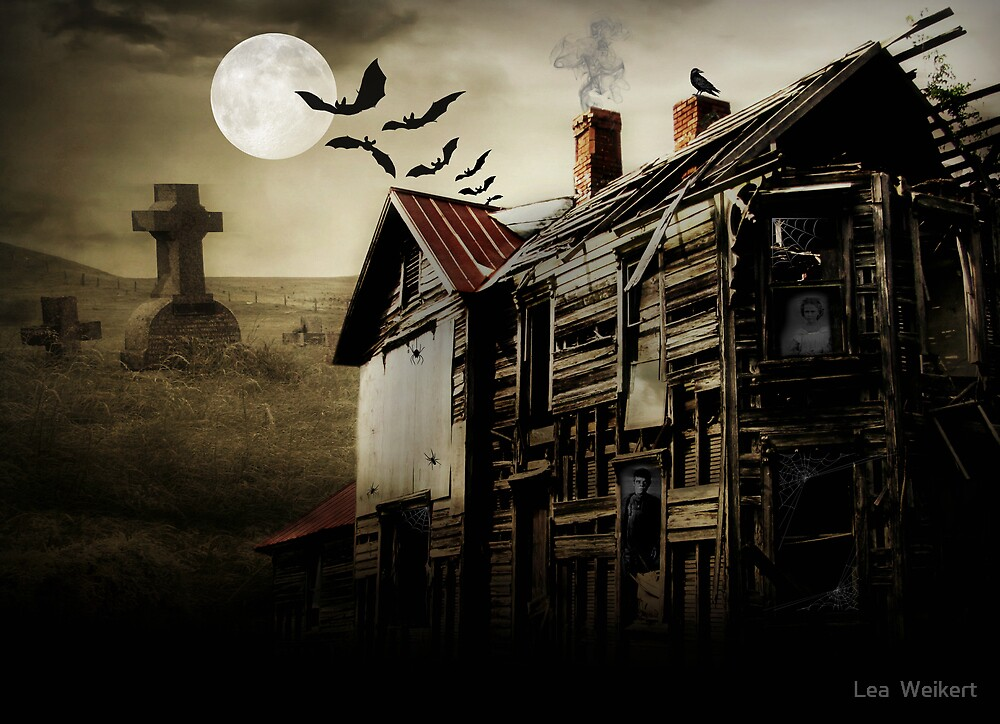 Hallows Eve Haunting by Lea  Weikert