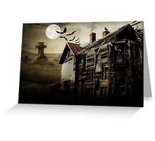 Hallows Eve Haunting Greeting Card