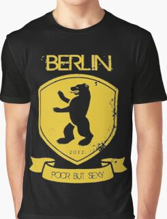 BERLIN POOR BUT SEXY Graphic T-Shirt