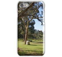 Vineyard scene iPhone Case/Skin