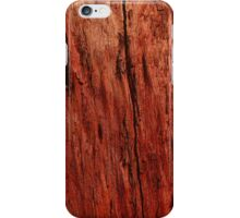 Red Wood iPhone Case/Skin