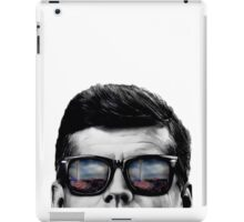 JFK Pop-Art (Black & White) Tablet Case iPad Case/Skin