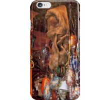 Masks And Handblown Glass iPhone Case/Skin
