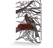 Swallow Nest Greeting Card