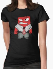 INSIDE OUT - ANGER Womens Fitted T-Shirt