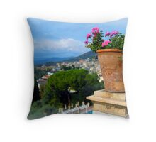 The Eagle's Nest~Eze' Throw Pillow