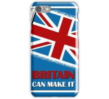 Britain can make it,  retro vintage iPhone Case/Skin
