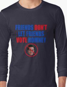 No Romney Long Sleeve T-Shirt