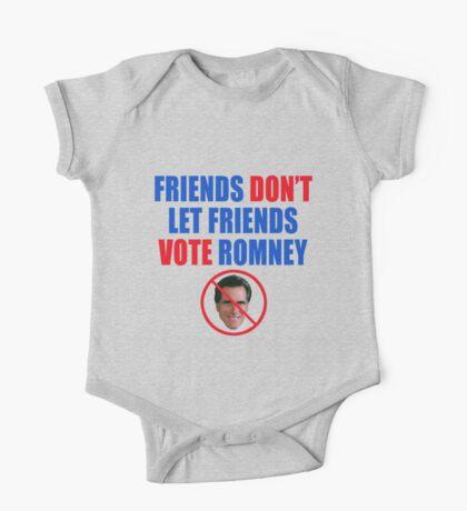 No Romney One Piece - Short Sleeve