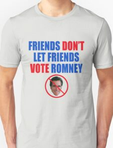No Romney Unisex T-Shirt