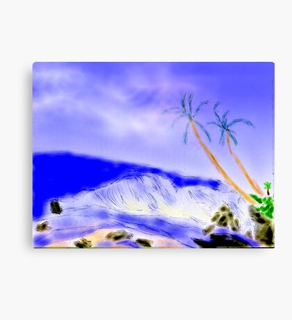 SOUTH SEAS Canvas Print