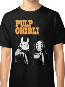 Pulp Ghibli - Studio Ghibli and Pulp Fiction Classic T-Shirt