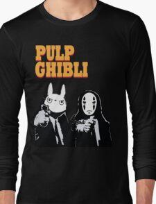 Pulp Ghibli - Studio Ghibli and Pulp Fiction Long Sleeve T-Shirt