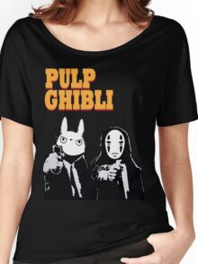 Pulp Ghibli - Studio Ghibli and Pulp Fiction Women's Relaxed Fit T-Shirt