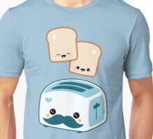 Cute Mustache Toaster Unisex T-Shirt