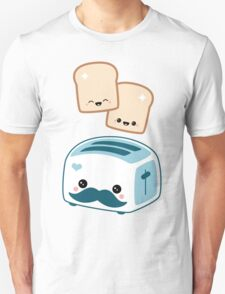 Cute Mustache Toaster T-Shirt