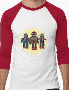 We Are The Robots Men's Baseball ¾ T-Shirt