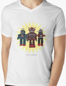 We Are The Robots Mens V-Neck T-Shirt