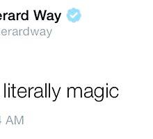 gerard music tweet by gerardslay