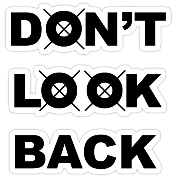 Don't Look Back - Black by ShadowDesigns