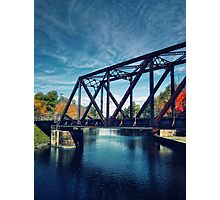 Swing Bridge Photographic Print