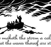 He maketh the storm a calm by Calgacus