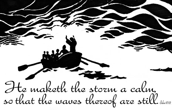He maketh the storm a calm by Matthew Scotland