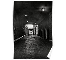 Man walking Poster