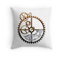 Industrial Hamster Throw Pillow