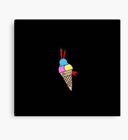 Gucci Mane Ice Cream Tattoo Canvas Print