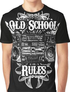 Old School Rules! Graphic T-Shirt