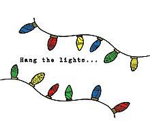 Hang the lights Photographic Print