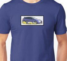 Focus ST Mk3 Performance Blue Photo Unisex T-Shirt