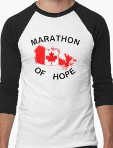 Marathon of Hope, 1980 Men's Baseball ¾ T-Shirt